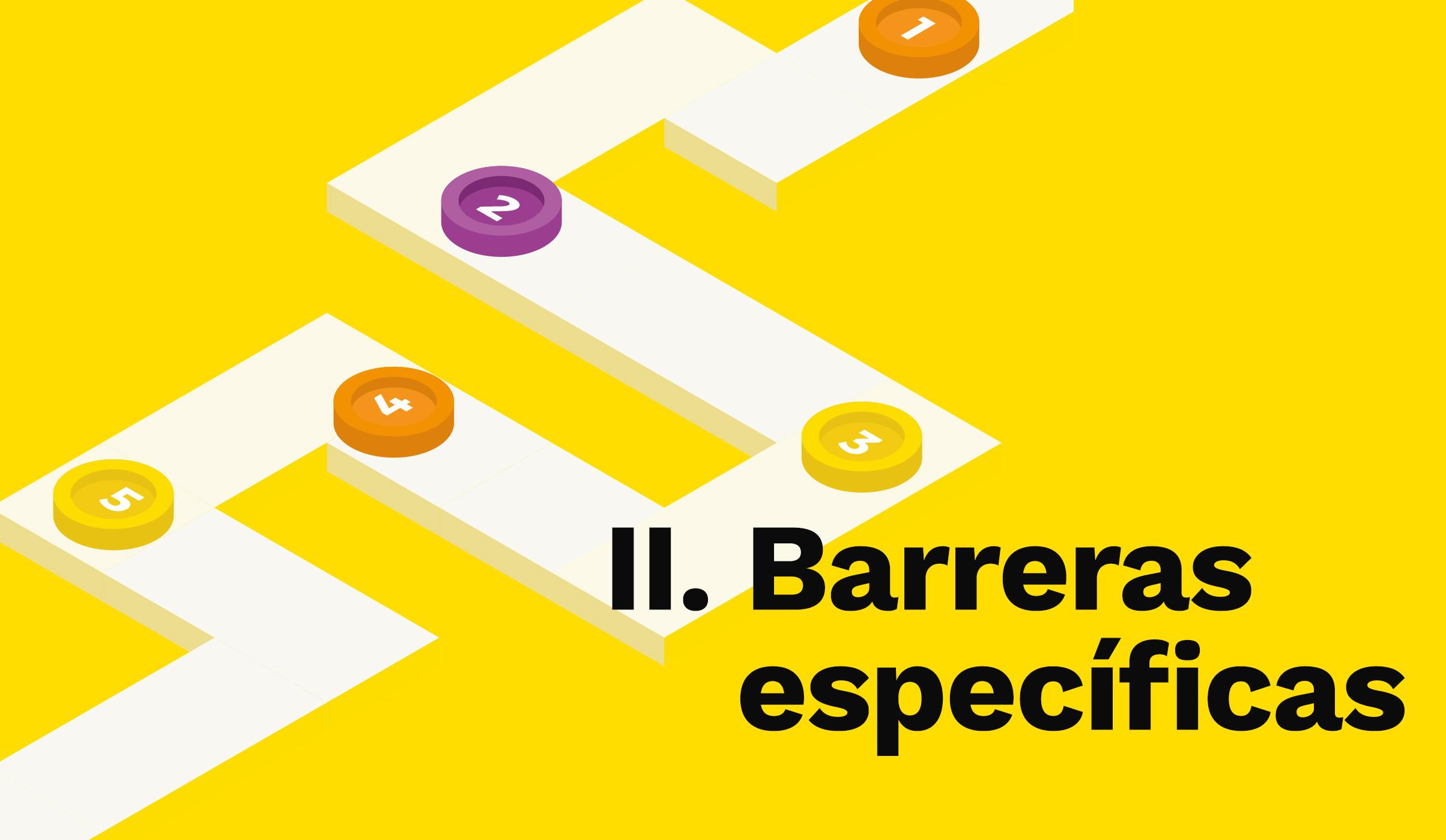 Barreras específicas
